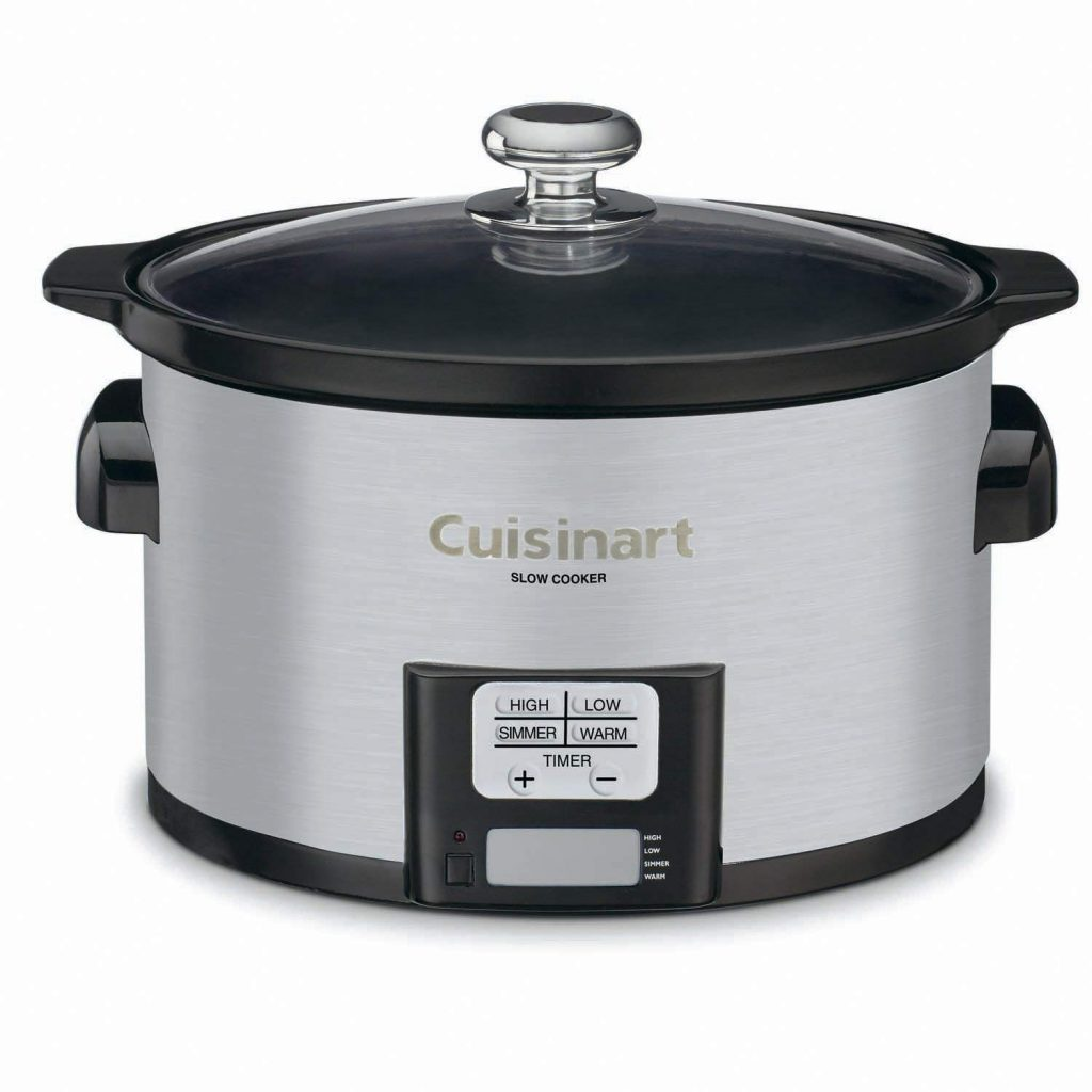 Cuisinart quart programmable slow cooker