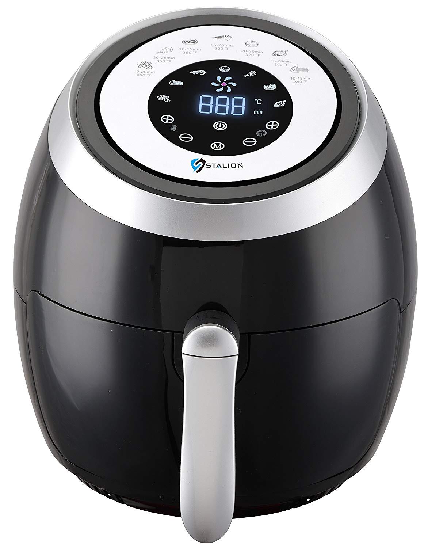 Electric digital air fryer deep oven cooker