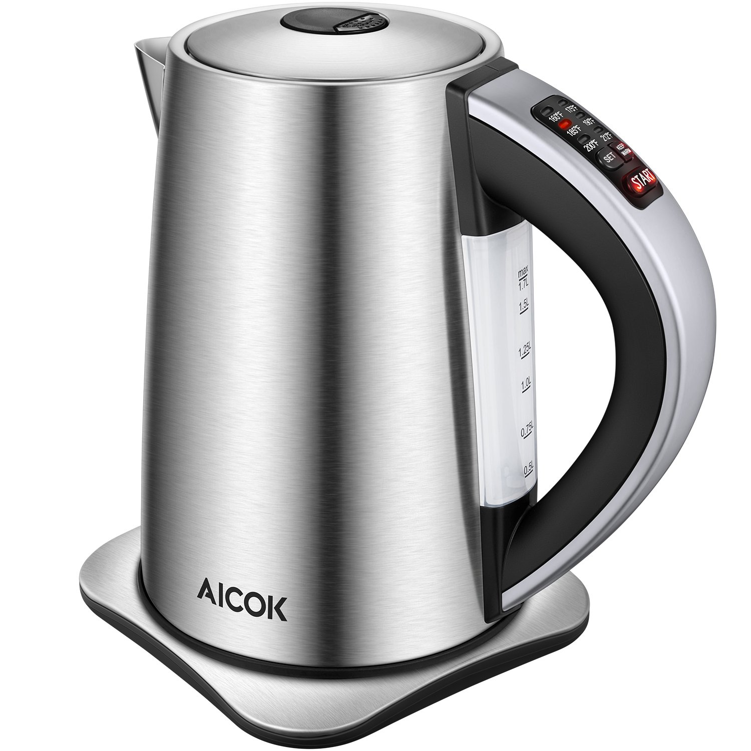 Variable Electric kettle for cooktop