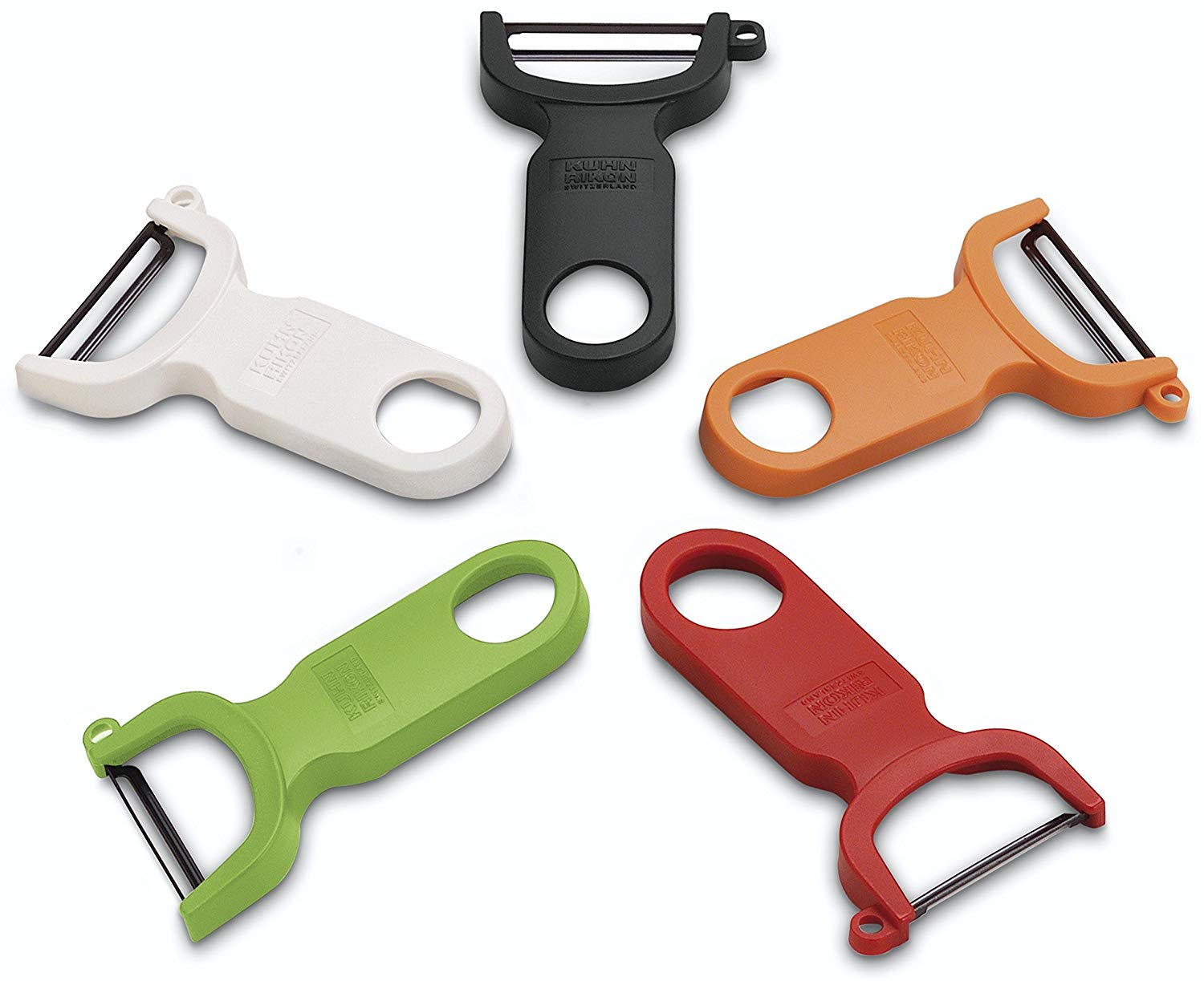 3 original sets of potato peeler in different colors