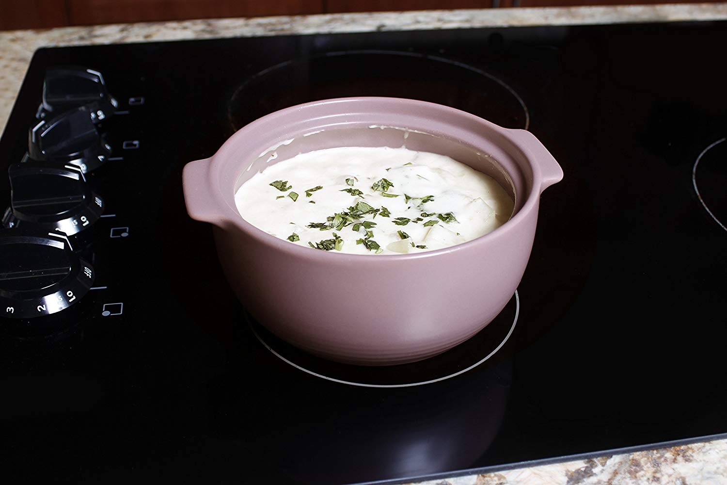 Neoflam ceramic casserole dish cookware for hob and oven