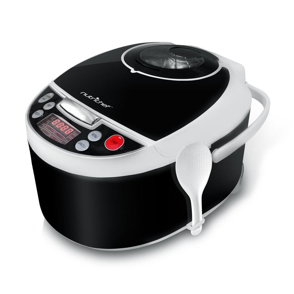 Best pressure cooker for fried chicken- Nutrichef Electric pressure countertop multi - cooker
