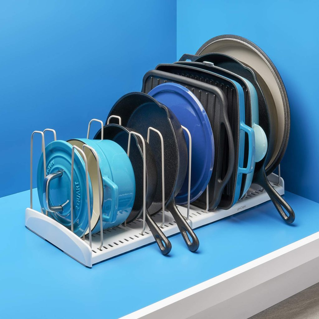 Expandable cookware organizer