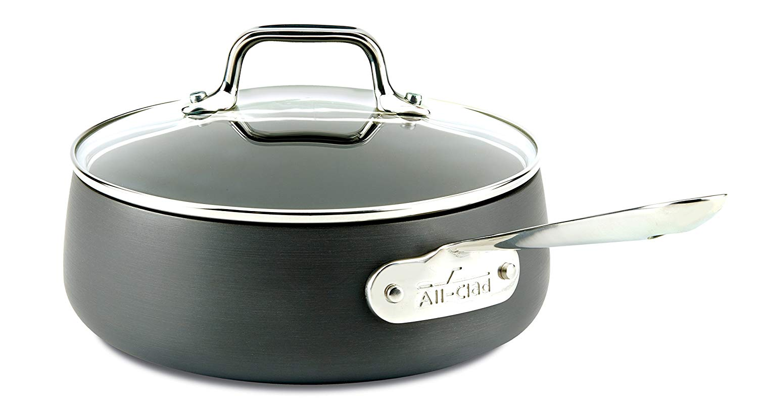 All- clad dishwasher safe anodized non -stick cookware