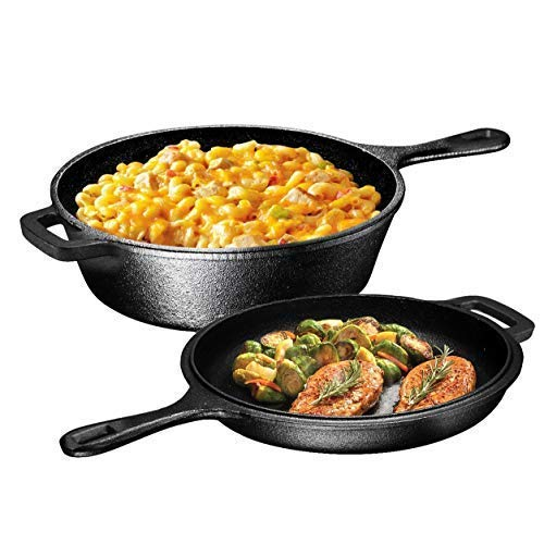 Ultimate-pre-seasoned cast iron kitchen cookware