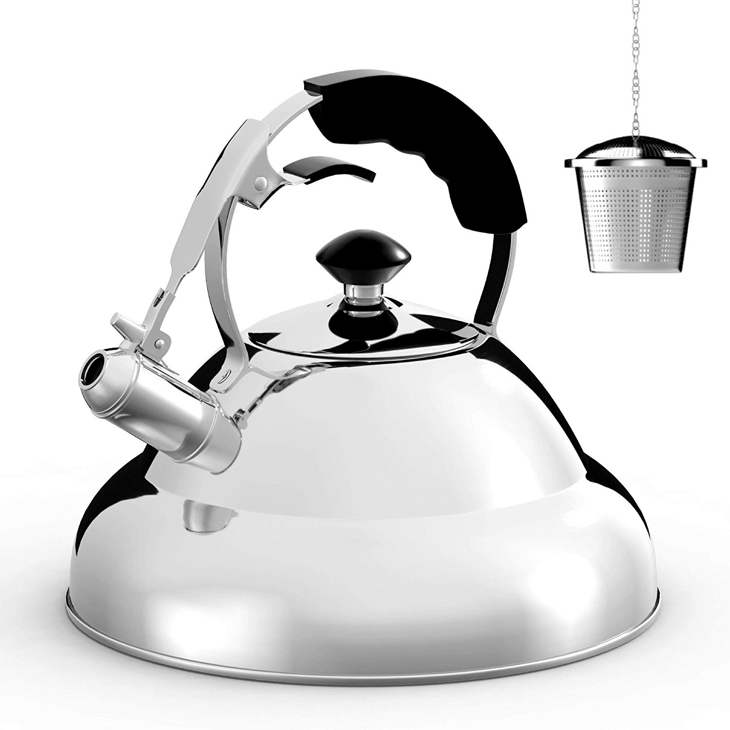 Surgical whistling best tea kettle for glass cooktop