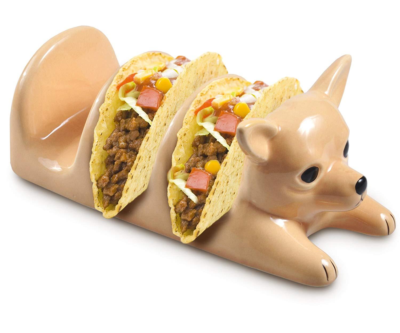 Dog funny taco holders