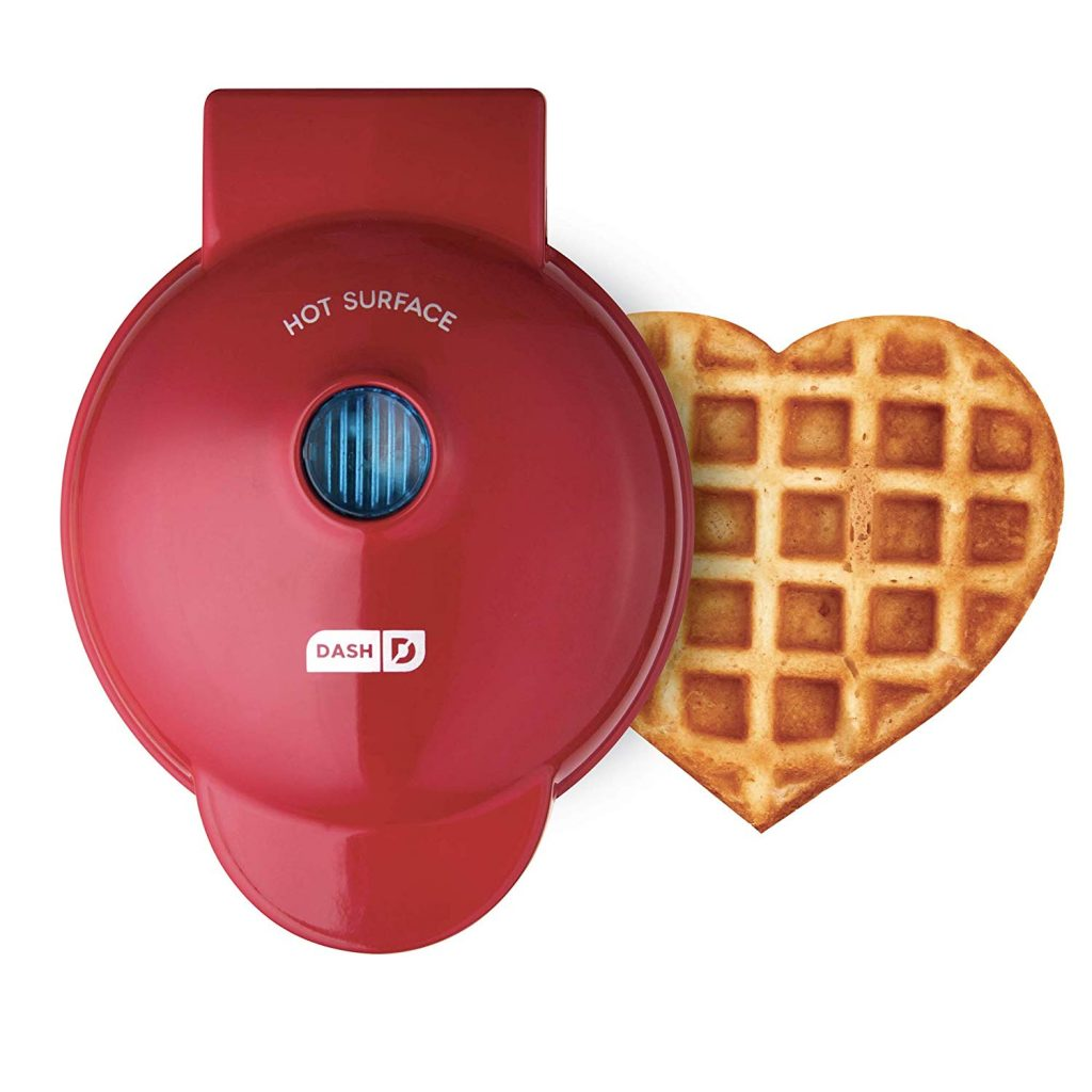 Mini Heart Shaped waffle Maker for Induction hob