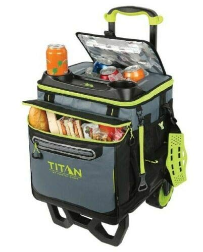 Arctic zone deep rolling cooler for beach