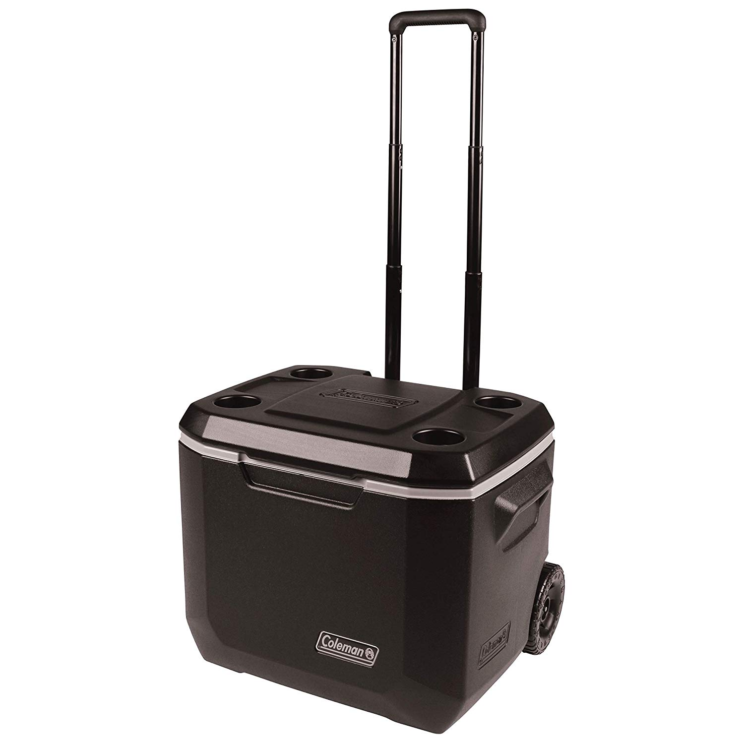 Coleman roller cooler for camping and beach