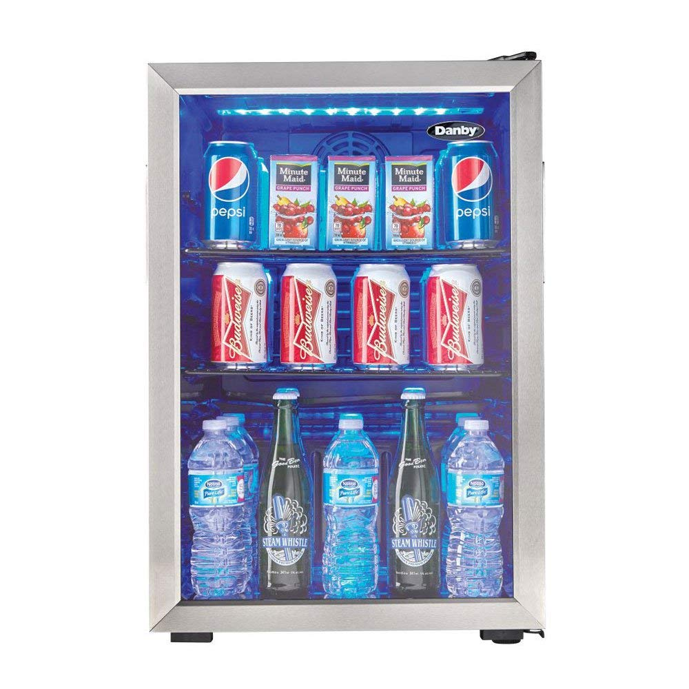 beverage and wine bottle refrigerator designed by Danby