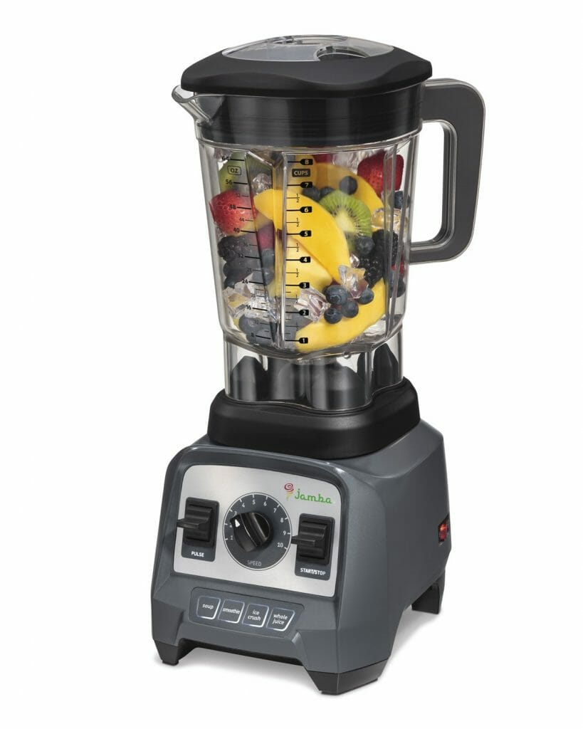 Jamba  good and affordable Blenders for smoothies, color gray