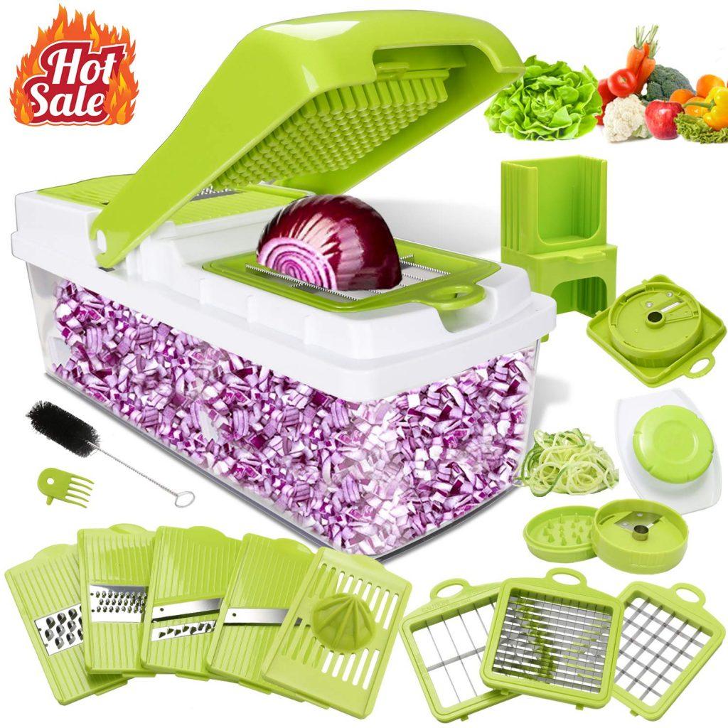 Kithouse vegetable chopper, onion peeler nicer dicer