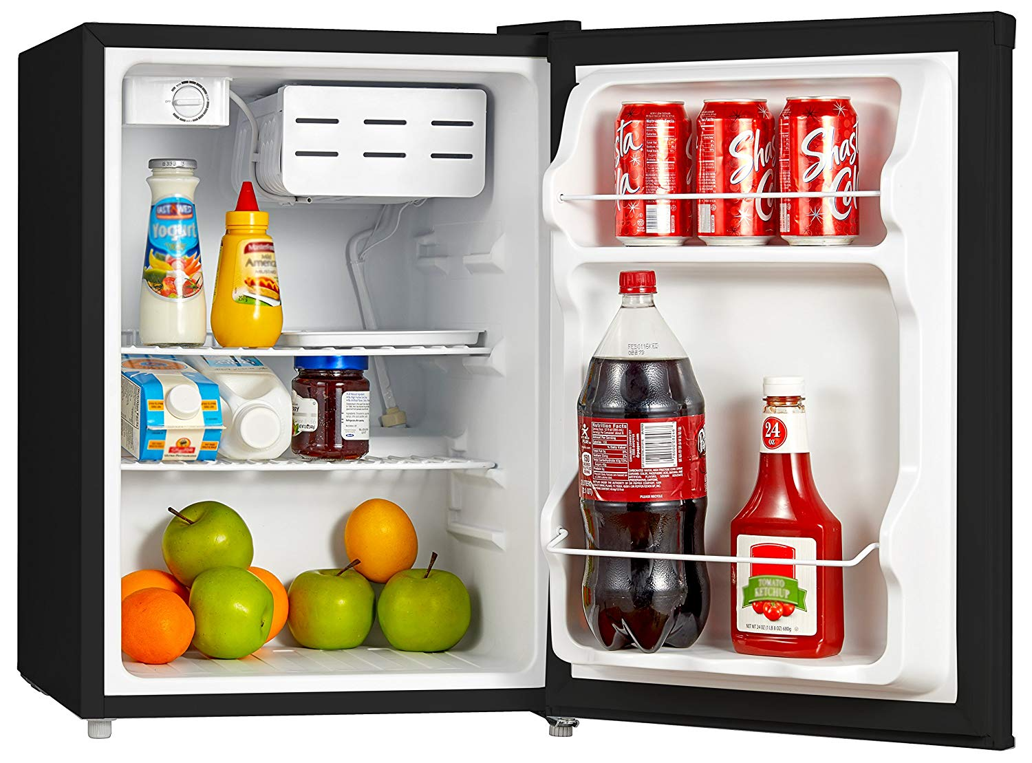 Midea Compact Refrigerator with Freezer