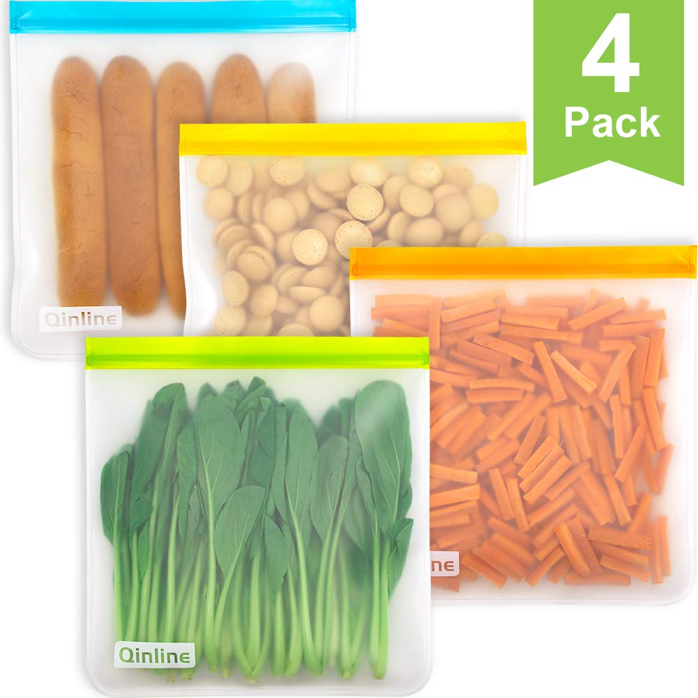 Reusable Gallon as seen as the best guide to the safest ziploc bag for food storage
