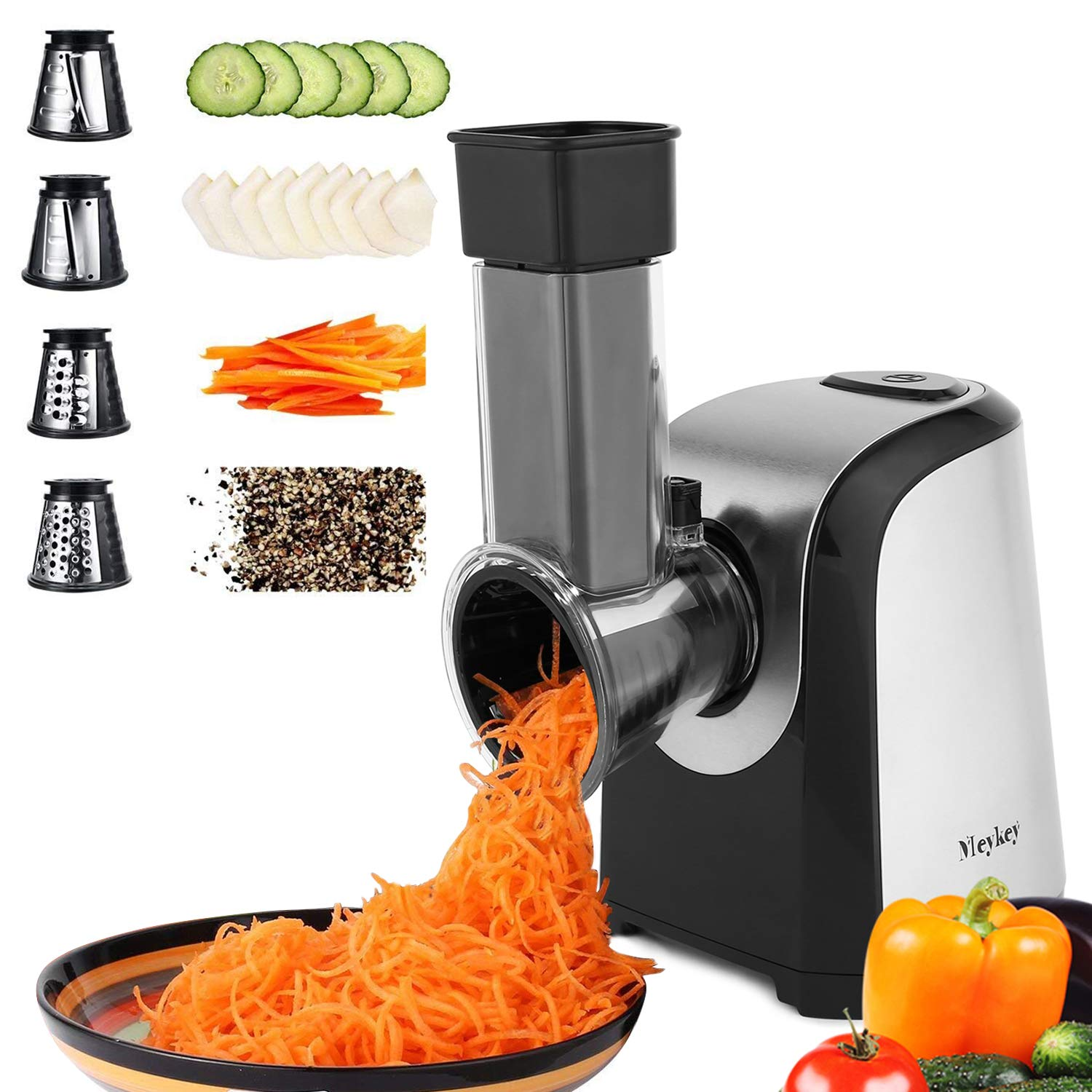 sample of homdox electric professional salad maker machine