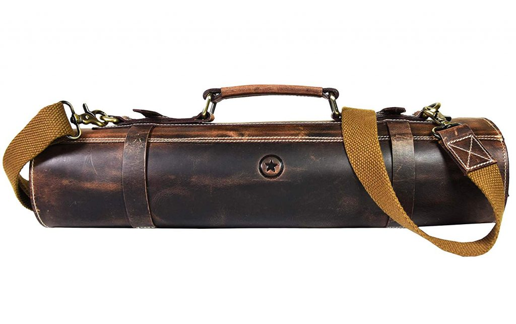 Leather Knife Bag for storage