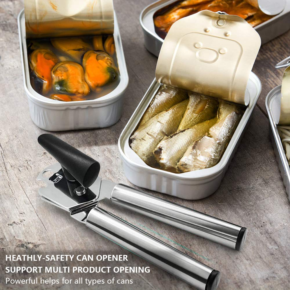 12 top best can opener for small and large cans