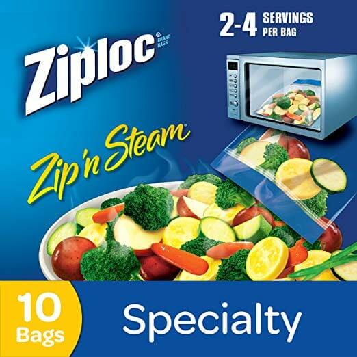 Zoploc steam bags