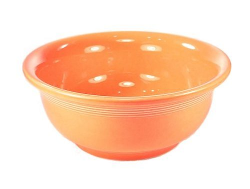 Fiesta tangerine medium mixing bowl