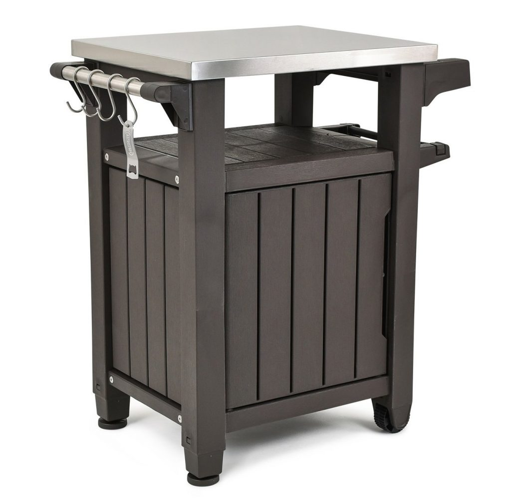 Keter unity indoor and outdoor barbecue station