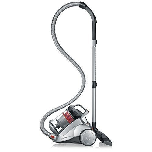 Severin German bagless vacuum canister cleaner with flexible hose