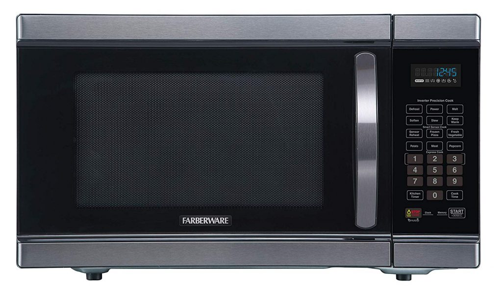 Smart Farberware inverter microwave oven for offices