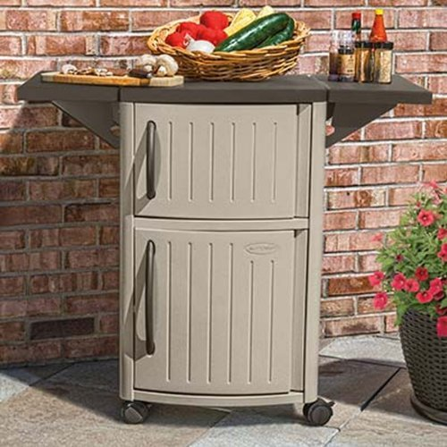Storage box for barbecue tools and accessories