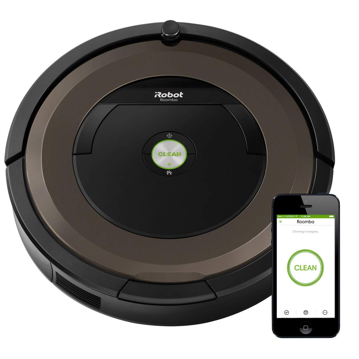 iRobot 890 Roomba best robot Vacuum Cleaner with wifi and alexa for hardwood floors and pets hairs