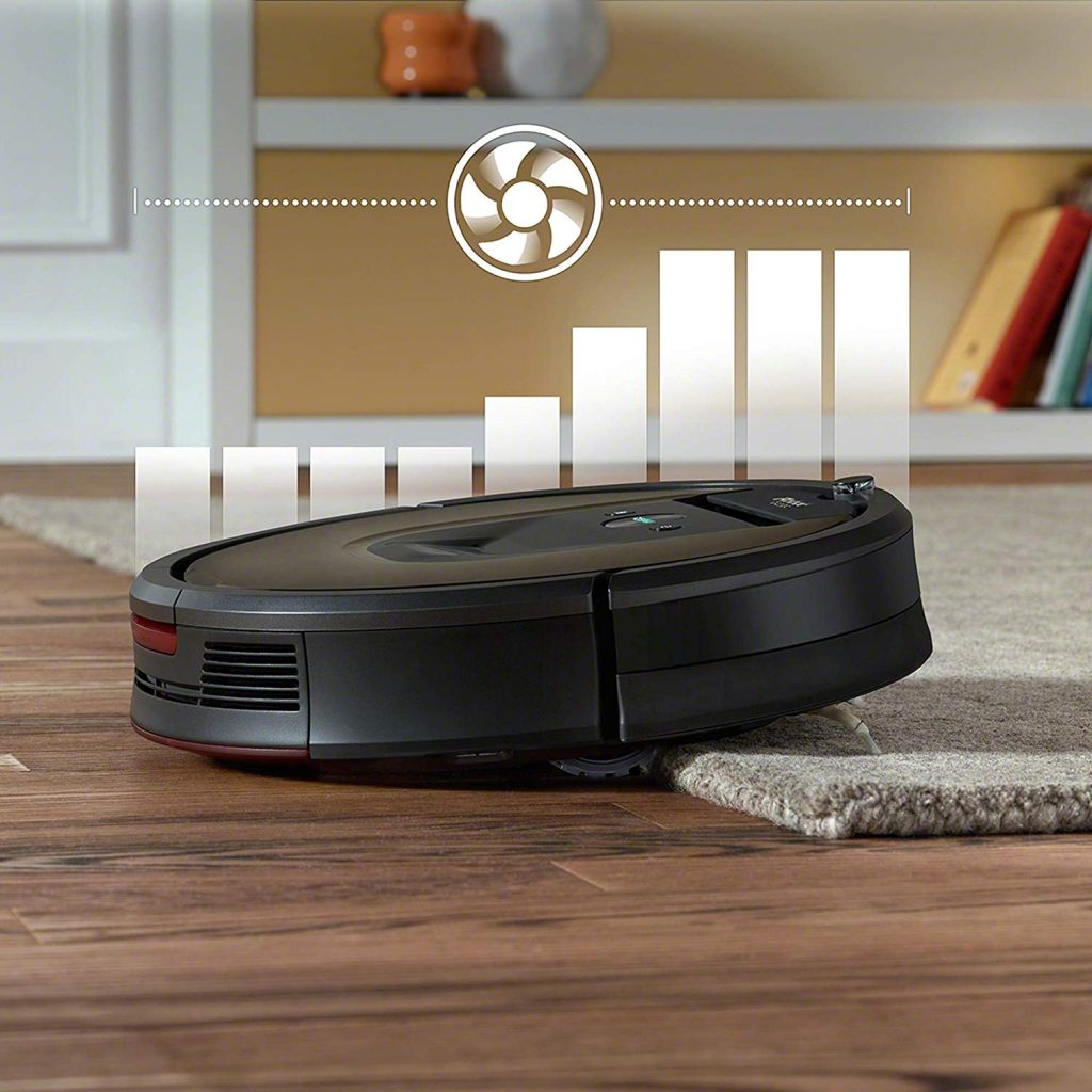 iRobot 980 working on carpets and floors