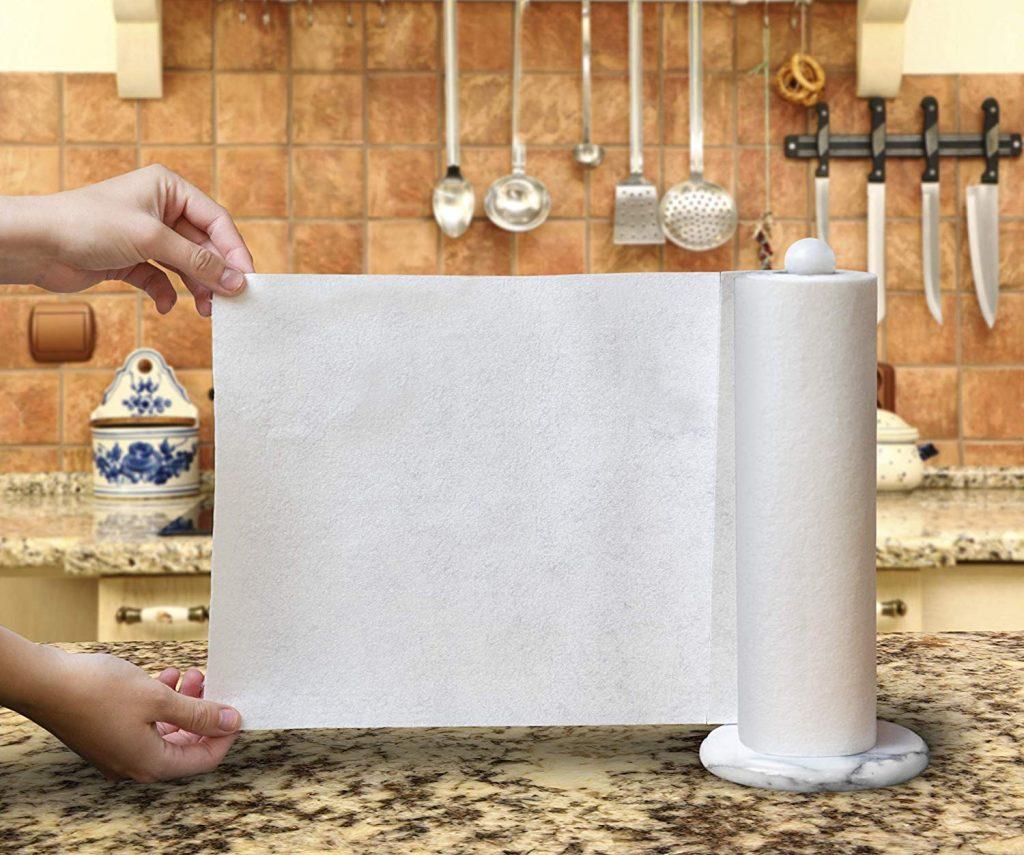 sample of bamboo reusable paper towel