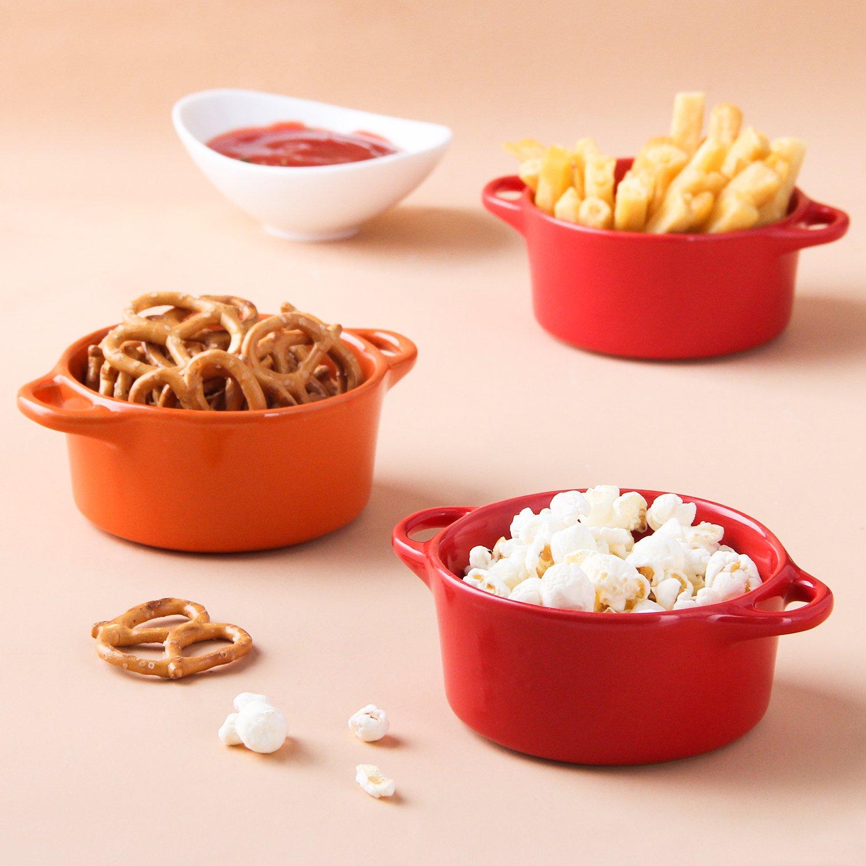 sample of ceramic porcelain ramekins dish set of 4