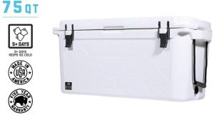 Bison 75 Quart coolers large double insulated Ice Chest