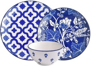 Ceramic Dinnerware sets without cups and saucers by Wisenvoy
