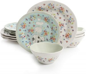 Decorative Urban Dinnerware Sets by Gibson