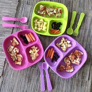 Dinnerware sets and Utensils for Toddlers