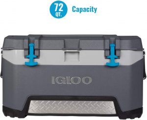 Igloo Quart 72 Cooler can keep ice for 5 days
