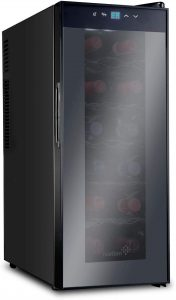 Ivation Thermoelectric slim refrigerator for Apartments