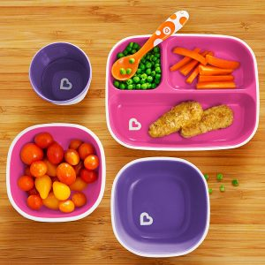 Munchkin Toddler Divided Plate and Bowl