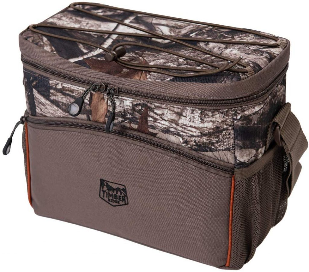 Timber Ridge insulated leakproof cooler for hunting, camping and fishing.
