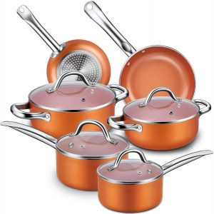 Best type of non stick cookware sets pots and pans