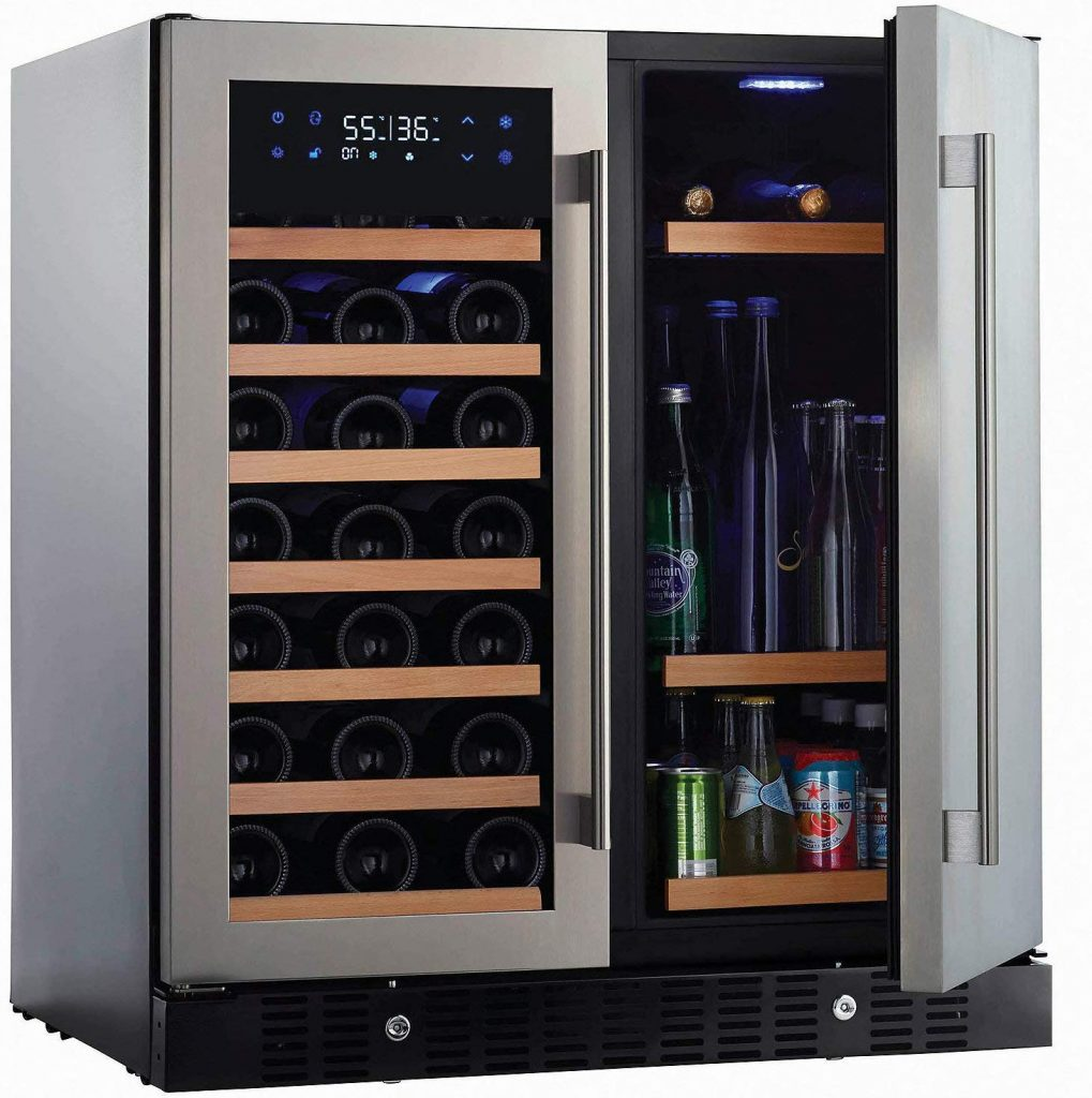N'finity Pro HD wine and beverage best fridge for large family
