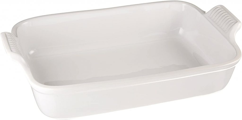 Le Creuset 12 by 9 inch size dish for Lasagna