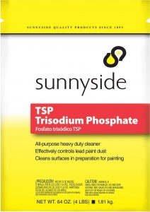 TSP - Trisodium Phosphate on stainless steel and multiple surfaces