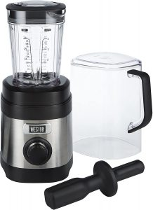 Weston Blender for Pureeing meat, Ice crush, shakes and smoothies.