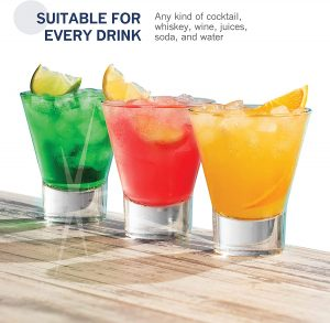 Bormioli drinking glass, suitable for all kinds of occasions.