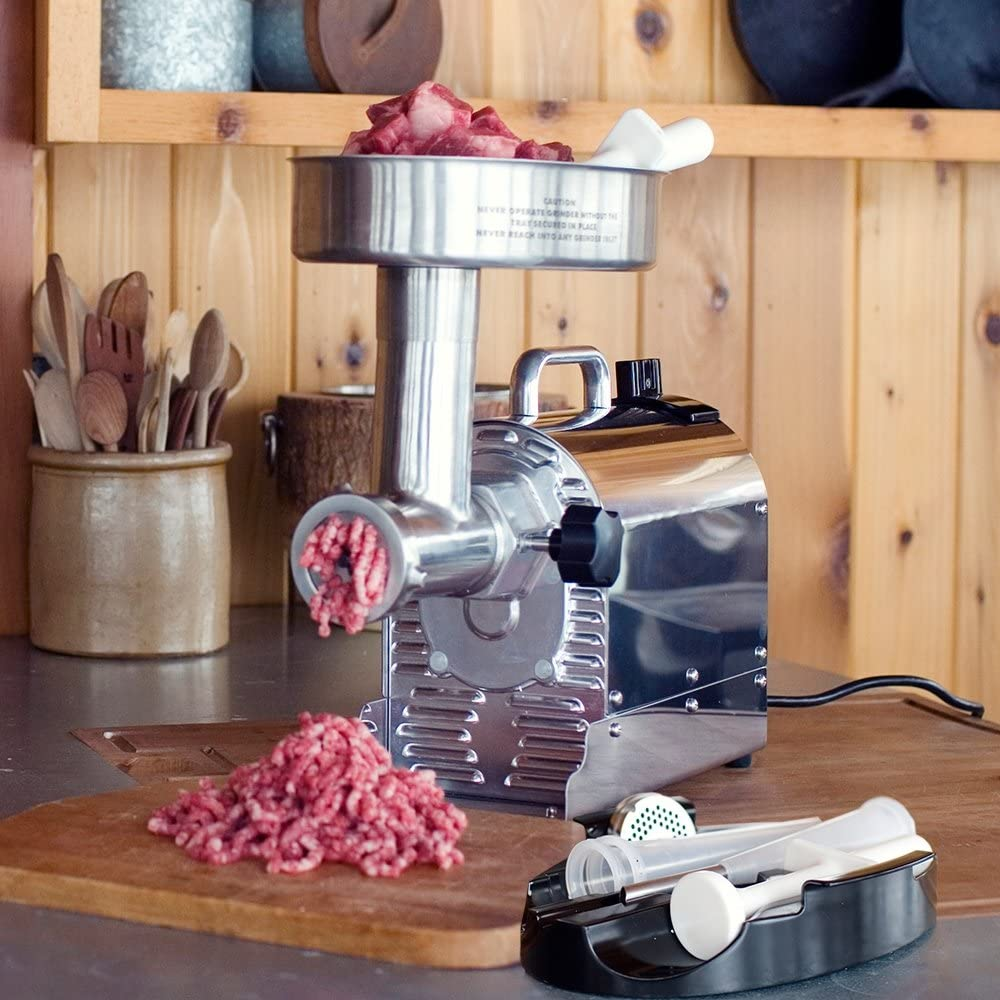 Weston size 8 meat grinder with 0.75HP