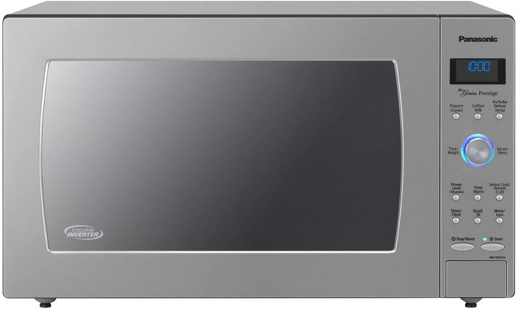 Built-in Panasonic Microwave oven for office use