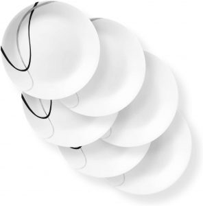 6 Piece Corelle chip Resistant every day dinnerware sets