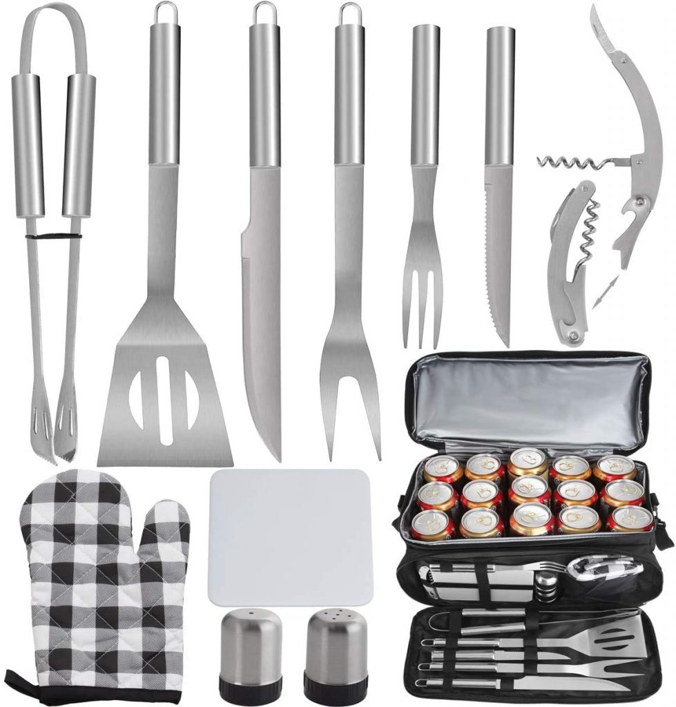 Barbecue Accessories with grill tools storage bag